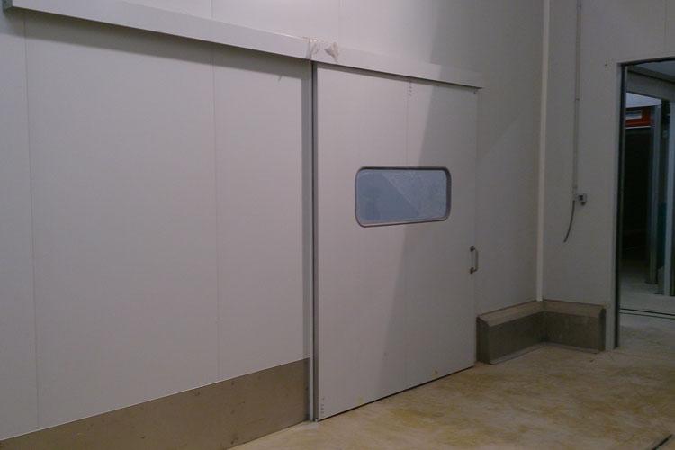 Porte industrielle coulissante tc1 gamme conomique - Porte coulissante industrielle ...