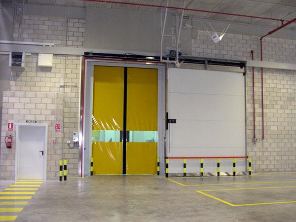 Porte coulissante isotherme coupe feu m2p m3p ei 60 for Porte coupe feu ei60
