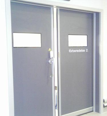 porte tanche hospitali re coulissante dth7 pour des blocs op ratoires tane hermetic. Black Bedroom Furniture Sets. Home Design Ideas