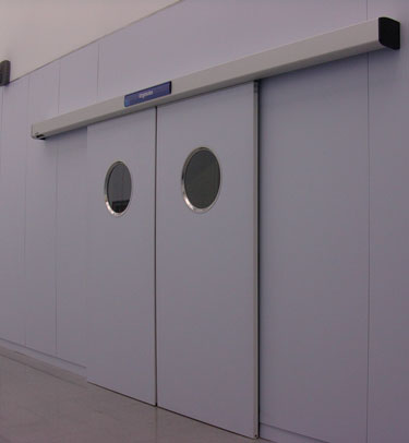 porte tanche coulissante dth7 pour des laboratoires et salles propres tane hermetic. Black Bedroom Furniture Sets. Home Design Ideas