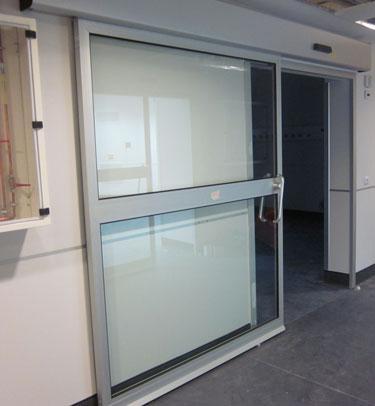 porte tanche coulissante th7 gh pour des laboratoires tane hermetic. Black Bedroom Furniture Sets. Home Design Ideas