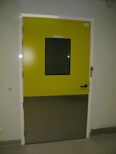 porte de service tsp hospitali re salles propres huisserie en alu tane hermetic. Black Bedroom Furniture Sets. Home Design Ideas